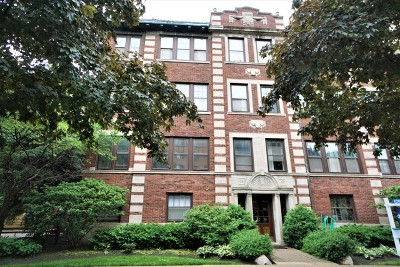Evanston Condo/Townhouse For Sale: 856 Hinman Avenue #3N