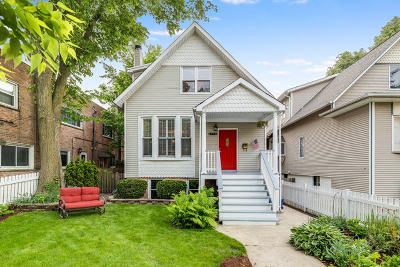 Single Family Home For Sale: 4730 North Winchester Avenue