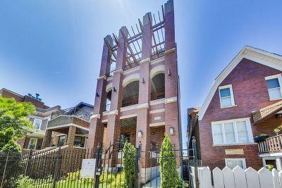 Condo/Townhouse For Sale: 3252 North California Avenue #1