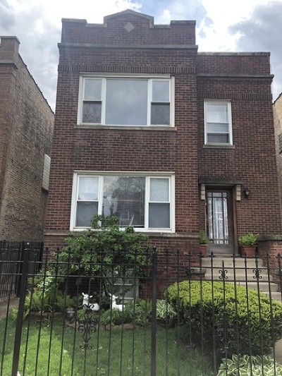 Belmont Cragin Multi Family Home Auction: 3022 North Keating Avenue