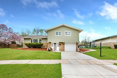 Oak Forest Single Family Home New: 5700 La Palm Drive