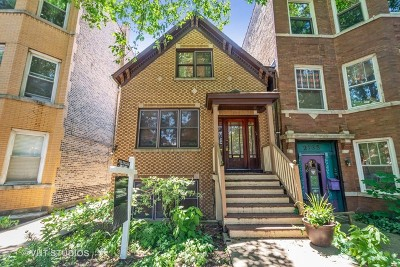 Single Family Home For Sale: 2131 West Haddon Avenue