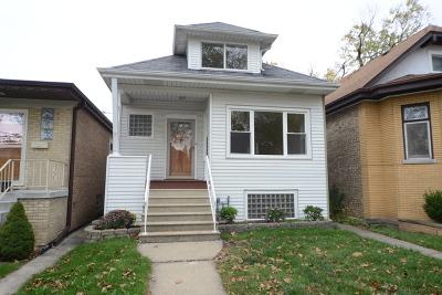 Portage Park Single Family Home For Sale: 4103 North Menard Avenue