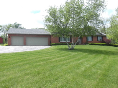 Marengo Single Family Home For Sale: 1513 Deerpass Road