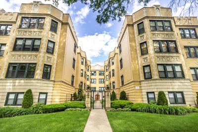 Irving Park Condo/Townhouse For Sale: 4108 North Keystone Avenue #1S