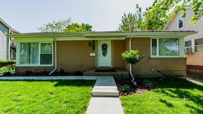 Evanston Single Family Home New: 1615 McDaniel Avenue