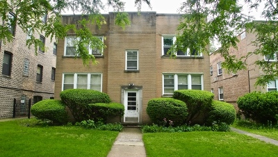 Evanston Condo/Townhouse For Sale: 1328 Brummel Street #2W