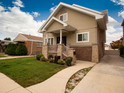Chicago Single Family Home New: 5836 South Natoma Avenue
