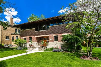 Oak Park Single Family Home For Sale: 1016 North Oak Park Avenue