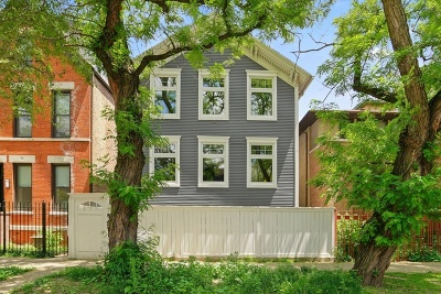Single Family Home For Sale: 1733 North Hoyne Avenue
