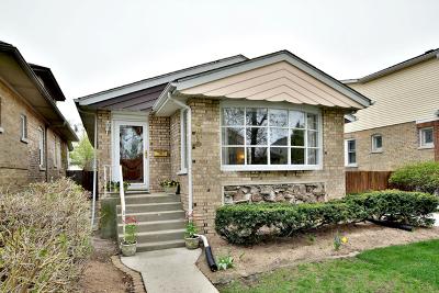 Edison Park Single Family Home For Sale: 6615 North Oliphant Avenue