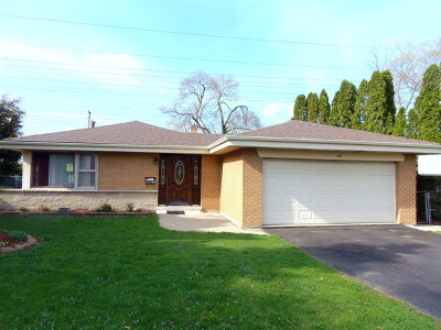 Wood Dale Single Family Home For Sale: 499 Gilbert Drive