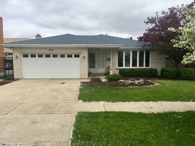 Oak Lawn Single Family Home For Sale: 4704 West 107th Street