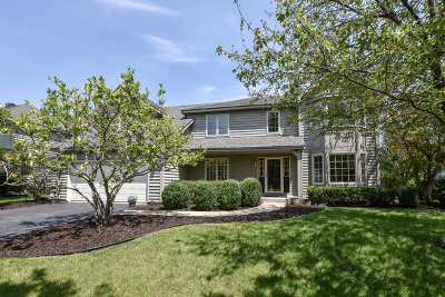Naperville Single Family Home Price Change: 3720 Candeur Drive