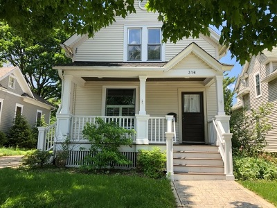 Wheaton Single Family Home For Sale: 316 South Hale Street