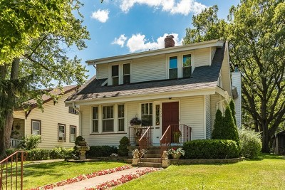 Downers Grove Single Family Home For Sale: 5426 Carpenter Street