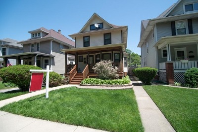Chicago Single Family Home New: 3729 North Lowell Avenue
