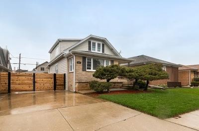 Chicago Single Family Home New: 5954 North Ozanam Avenue