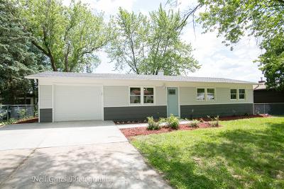 Streamwood Single Family Home For Sale: 319 Walnut Drive