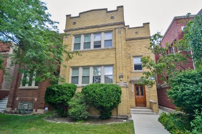 Chicago Multi Family Home New: 2512 West Eastwood Avenue