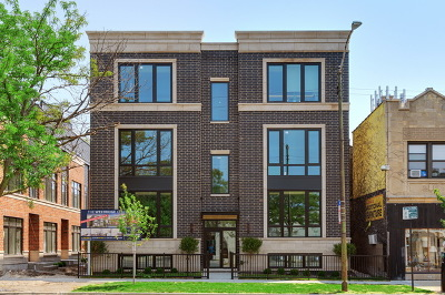 Condo/Townhouse For Sale: 6911 North Western Avenue #1N
