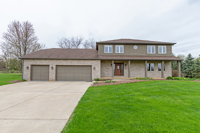 St. Charles Single Family Home For Sale: 5n730 Prairie Valley Drive