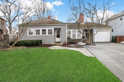 Barrington Single Family Home For Sale: 215 West Hillside Avenue