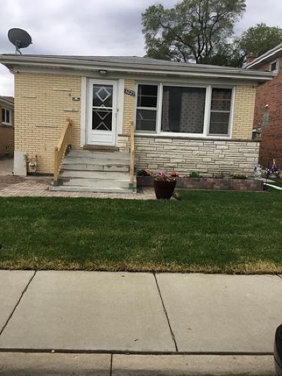 Portage Park Single Family Home New: 6225 West Belle Plaine Avenue