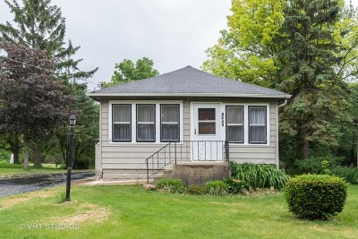 Downers Grove Single Family Home For Sale: 2309 College Road