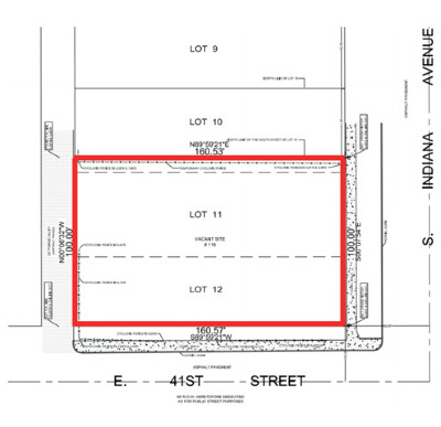 Chicago Residential Lots & Land For Sale: 118 East 41st Street East
