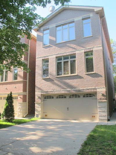 Chicago Single Family Home New: 5329 West Windsor Avenue