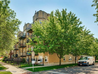 Condo/Townhouse New: 5253 North Rockwell Street #3