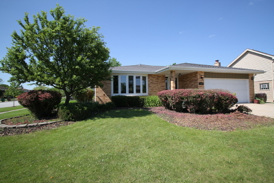 Tinley Park Single Family Home New: 9330 178th Street