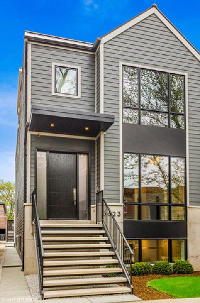 Single Family Home For Sale: 3623 North Leavitt Street