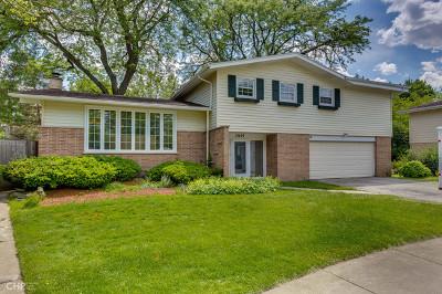 Wilmette Single Family Home New: 2935 Hartzell Street