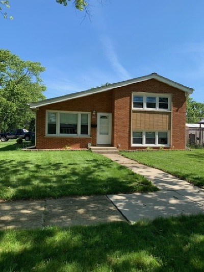 Midlothian IL Single Family Home New: $184,500