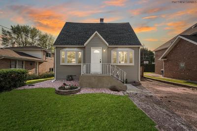 Oak Lawn Single Family Home New: 8952 Meade Avenue