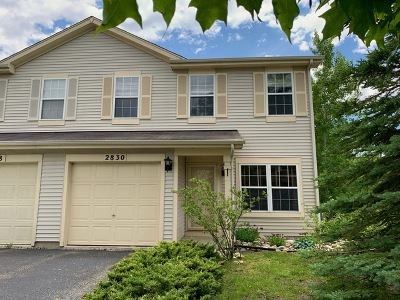 Naperville Condo/Townhouse New: 2830 Alameda Court