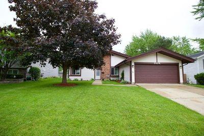 Hanover Park Single Family Home For Sale: 5824 Franklin Court