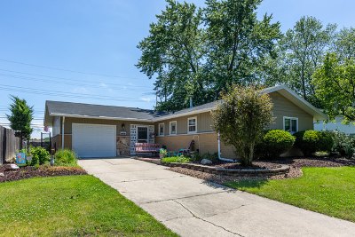 Oak Forest Single Family Home New: 5507 Vine Street