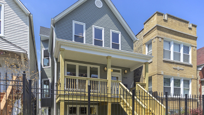 Chicago Single Family Home New: 3808 North Whipple Street
