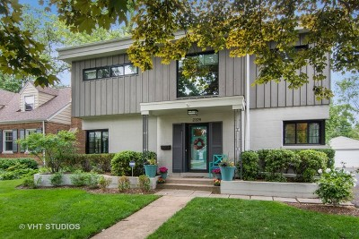 Wilmette Single Family Home For Sale: 2326 Greenwood Avenue