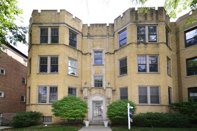 Evanston Condo/Townhouse For Sale: 1320 Central Street #3E