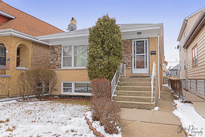 Chicago Single Family Home New: 4218 North Meade Avenue