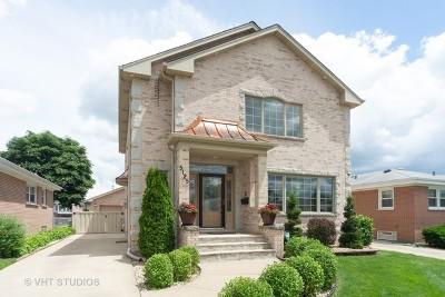 Norridge Single Family Home Contingent: 5125 North Oneida Avenue