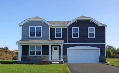 Yorkville Single Family Home New: 3142 Matlock Drive