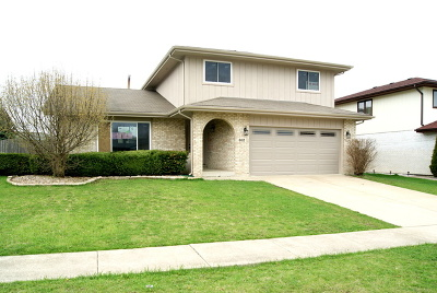 Romeoville Single Family Home New: 612 Driftwood Avenue