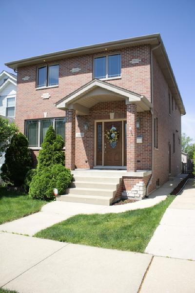 Chicago Single Family Home New: 3842 North Ottawa Avenue