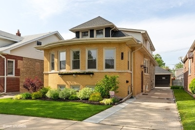 Chicago Single Family Home New: 7218 West Lunt Avenue