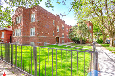 Chicago Multi Family Home New: 1654 East 85th Street